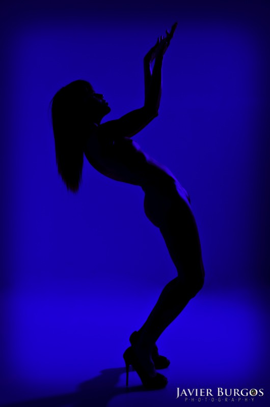 Woman in Blue - Javier Burgos - Fotógrafo Madrid - Book modelos