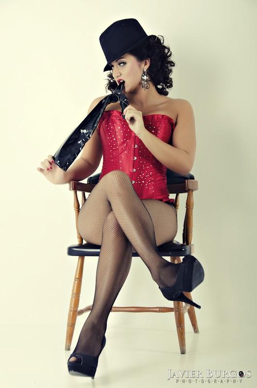Elena - Pinup Style - Javier Burgos - Fotógrafo Madrid - Book modelos