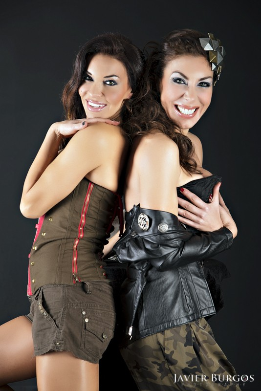 María y Romy Abradelo - Javier Burgos fotógrafo