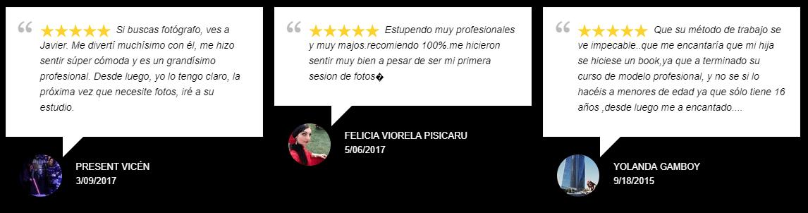 Opiniones Javier Burgos Fotógrafo