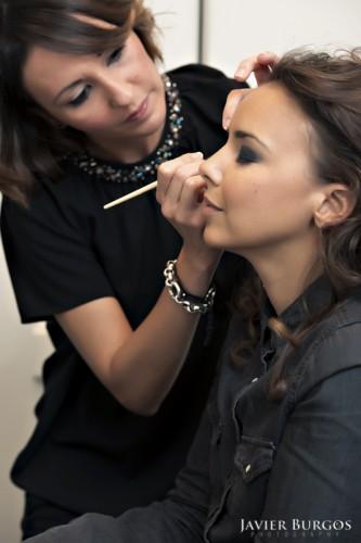Maquillaje Bibi Redondo con Chenoa